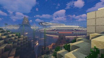 A Survival world of mine still under construction Minecraft Map & Project