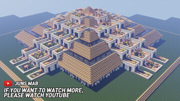 Terrace House Minecraft Map & Project