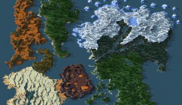 Course For Northern - (worldpainter) Minecraft Map & Project