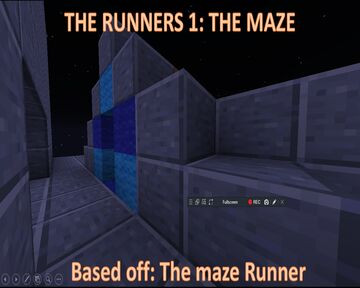 THE RUNNERS EPISODE 1: the ultimate maze (based on the Maze Runner movies) (kinda ;) ) Minecraft Map & Project
