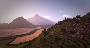 Campania - 4.5k x 4.5k Map (Italian Landscape) Minecraft Map & Project