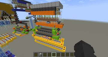 Bamboo Farm / Auto Smelter Combo Minecraft Map & Project