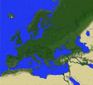 Europe Version 2 By Green0live Minecraft Map & Project