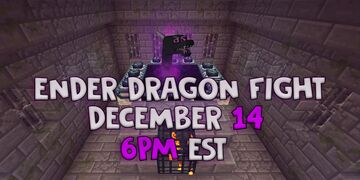 Ender Dragon Fight Minecraft Map & Project