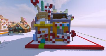 The Candy Shop|Sugar N' Spice Collection Minecraft Map & Project