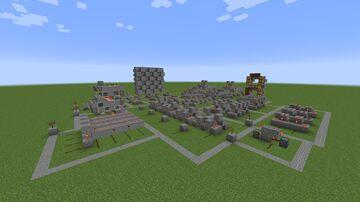 Test Area Minecraft Map & Project