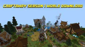Craftaway Bedrock SMP Season 1 World Download Minecraft Map & Project