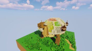 Turtle House Minecraft Map & Project