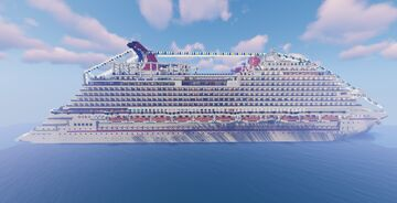 MS Carnival Panorama   1:1 Cruise Ship Replica (OLD) Minecraft Map & Project
