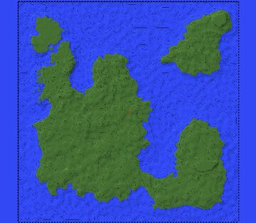 Medieval Fantasy Map Minecraft Map & Project
