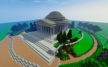 Jefferson Memorial, Washington DC Minecraft Map & Project