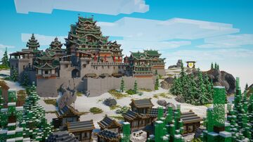 Chinese Fortress Minecraft Map & Project