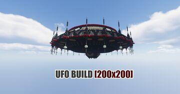 [200x200] UFO BUILD ► PHOENIXBUILDS Minecraft Map & Project