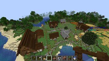 Birchwood Village Minecraft Map & Project