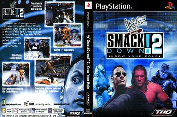 WWF SMACKDOWN 2! KNOW YOUR ROLE schematic Minecraft Map & Project