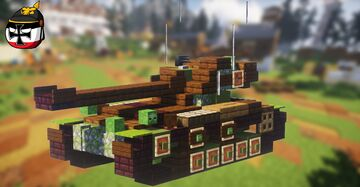 AMX-13 (2:1 Scale) Minecraft Map & Project