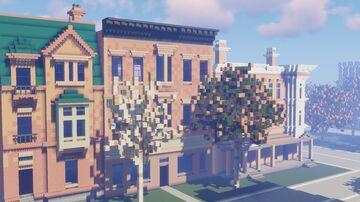 Massive Fall City Update #5 Minecraft Map & Project