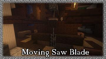 Moving Sawblade Minecraft Map & Project
