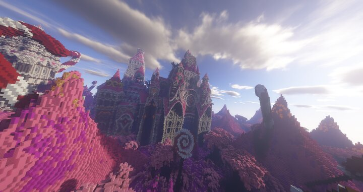 Popular Map : Sweety Palace - FANTASY BUİLD [Cinematic]
