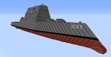 USS Zumwalt DDG-1000 (1.5:1) Minecraft Map & Project