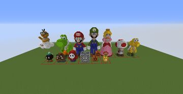 Supermario pack Minecraft Map & Project