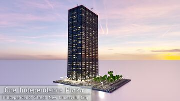 One Independence Plaza (Remake) | New Limesville City | NL | UCS Minecraft Map & Project