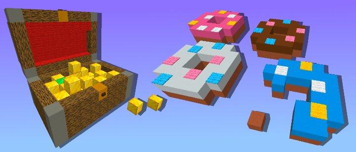 minecraft birthday cake build battle
