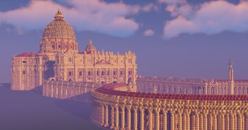 St. Peter's Basilica Minecraft Map & Project