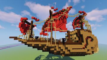 Asian Ship Minecraft Map & Project