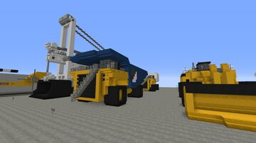 Giant Dump Truck Minecraft Map & Project