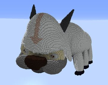 Bigger and better Appa from Avatar: the last air bender Minecraft Map & Project