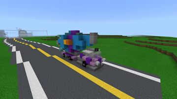 Fallout Nuka Cola Quantum Promotional Truck Minecraft Map & Project