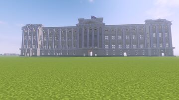 Buckingham Palace Minecraft Map & Project