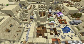 Desert city paintball map Minecraft Map & Project