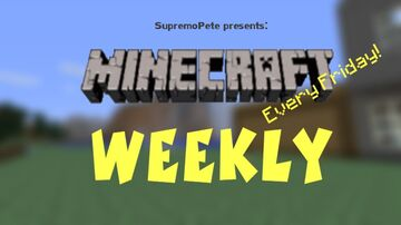 Weekly_Parkour Minecraft Map & Project