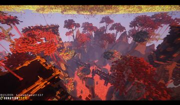 Falling Meteorites Minecraft Map & Project