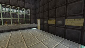 The Torture Lab. Minecraft Map & Project