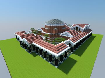 Mineral Baths of Caracalla (ahistorical) Minecraft Map & Project