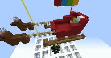 Xmas Shifting Maze Minecraft Map & Project