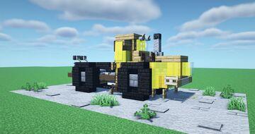 Kirovets K-700 Minecraft Map & Project