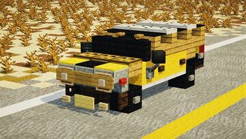 Hummer H2 Minecraft Map & Project