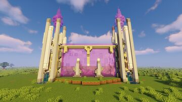 Sequel: Purple Wall for Purple Entrance! Minecraft Map & Project
