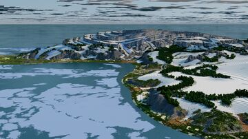Advent Map [20] Eteral [4k, Survival, Mega Winter Biome, Download: Java & Bedrock] Minecraft Map & Project