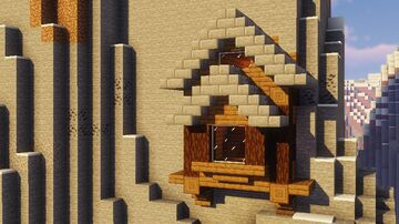 Mountain survival house Minecraft Map & Project