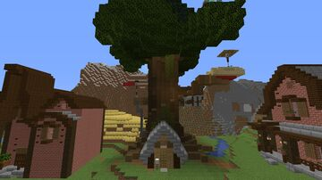 Tree House Living | FLORPUS Minecraft Map & Project