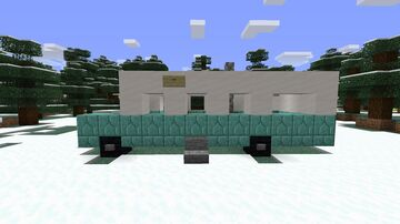 Bus 142 from Into the wild Minecraft Map & Project
