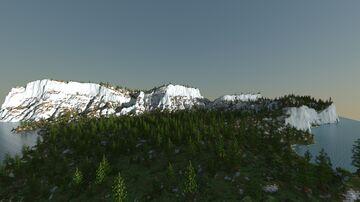 Snow-White Rocks Minecraft Map & Project