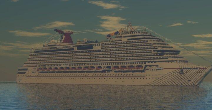 The Beautiful Carnival Dream Sailing at Sea!
