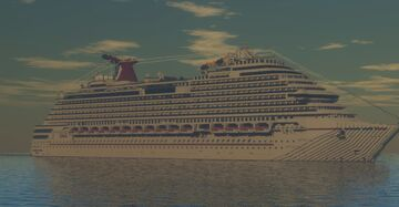 Carnival Dream (2009) (1:1 Scale Replica) (MOST ACCURATE TO DATE) Minecraft Map & Project
