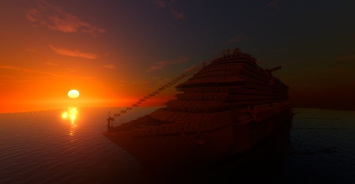 Dream Sailing while the sun sets...